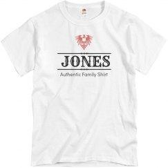 Authentic jones shirt