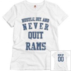 Rams hustle blue