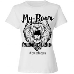 My Roar Cannot Be Silenced