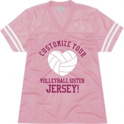 Custom Volleyball Sister Jersey