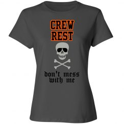 Aviator Skull Crew Rest