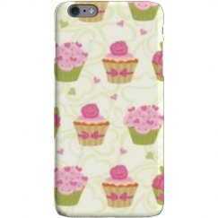 Color cupcake phone case.