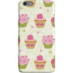 Color cupcake phone case.