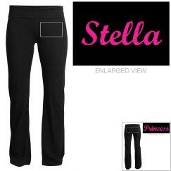 Stella, yoga pants