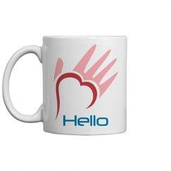 JJ's Hello Foundation - coffee mug