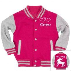 Unicorn Custom Letterman Jacket