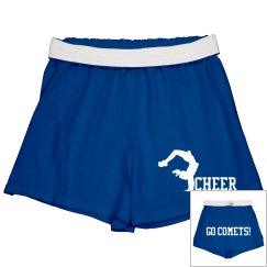Comets Cheer Shorts