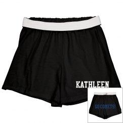 Comets Cheer Shorts