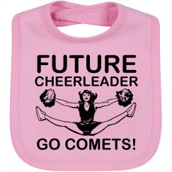Future Comets Cheer Bib