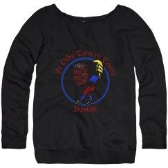 Distressed Logo Sweatshirt
