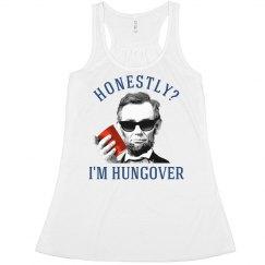 Honest Abe Funny July 4th Tank
