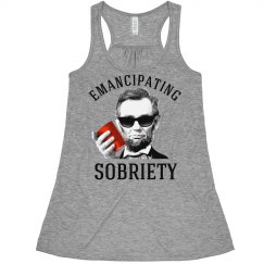 Emancipating Sobriety Abe Lincoln Funny Shirt