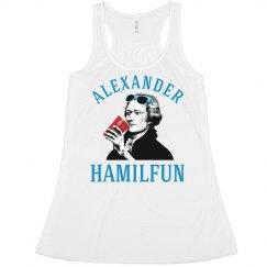 Hamilton Funny July 4th Tank