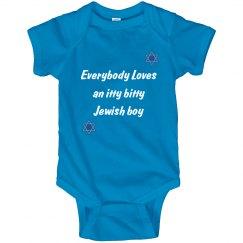 Itty Bitty Jewish Boy
