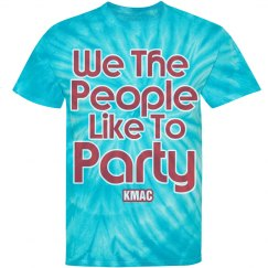 We The People Like to Party Tee