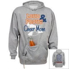 VV hooded sweatshirt with drink pocket