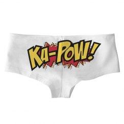 Ka-Pow Behind Hot Shorts
