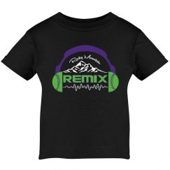 Infant Remix T-Shirt (Black)