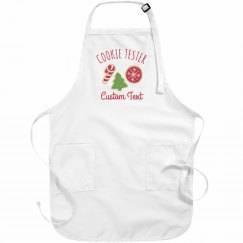 Official Cookie Tester Holiday Aprons