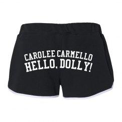 Hello Dolly Carolee Carmello Running Shorts