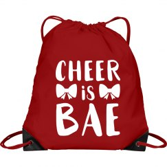 Cheer Is Bae Bag
