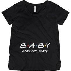 Friends Cute Baby Announcement