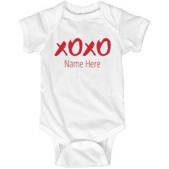 Custom Vday Baby Bodysuit