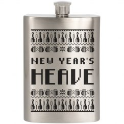 New Year's Sweater Flask