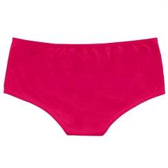 Basic White Hot Shorts