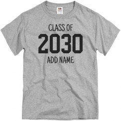 Custom Name Kindergarten Class 2030