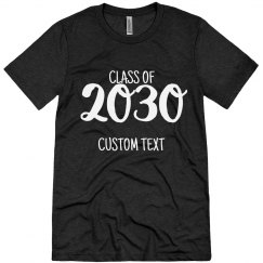 Class Of 2030 Kindergarten Custom