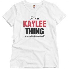 It's a Kaylee thing