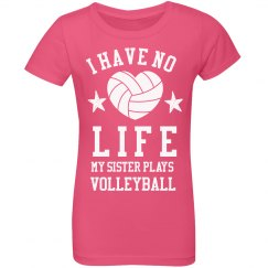 My Sister Plays Volleyball