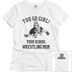 Go Girl Wrestling Mom