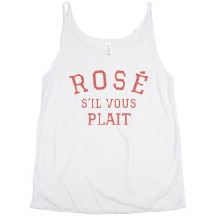 Rosé, if you Please Split Tank