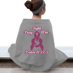 Breast Cancer Throw