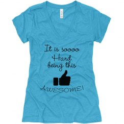 AWESOME! V-neck
