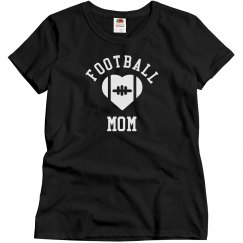 Cute Football Mom Shirt