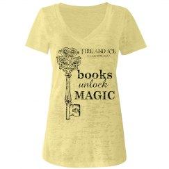 Books Unlock MAGIC - Burnout Tee