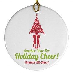 Holiday Cheer All Stars Christmas Ornament