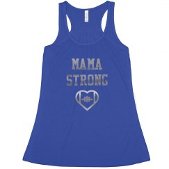 Football Mama Strong Mom Pride