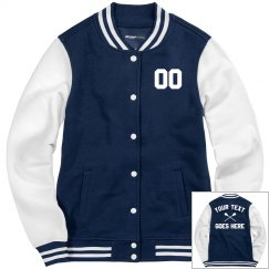 Customize A Lacrosse Letterman