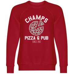 Champs 1 - Red, White & Grey sweatshirt