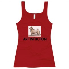 Art Infliction Slim Fit Longer Length Tank Top