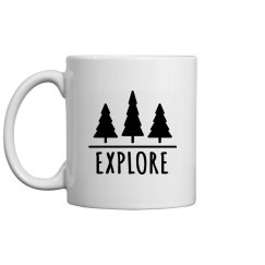 Explore The Woods Mug