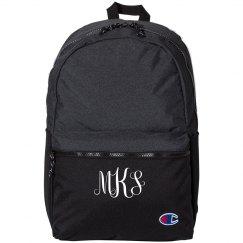 Custom Monogram Champion Backpack