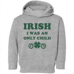 St Patricks Day Toddler Hoodies!