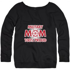 Proud Military Mom Sweater