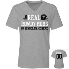 The Trendy Real Football Mom Shirt You Can Customize
