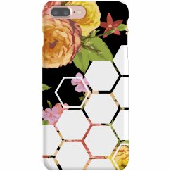 Floral Hexagon Phone Case